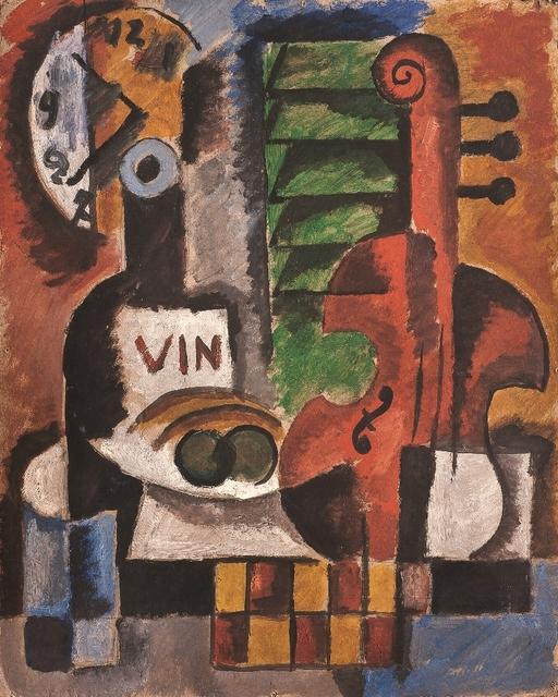 , 'El violín,' 1935, Galería de las Misiones