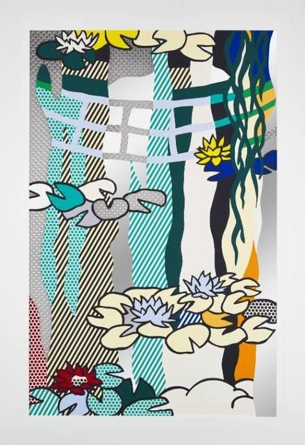 , 'Water Lilies with Japanese Bridge,' 1992, David Benrimon Fine Art