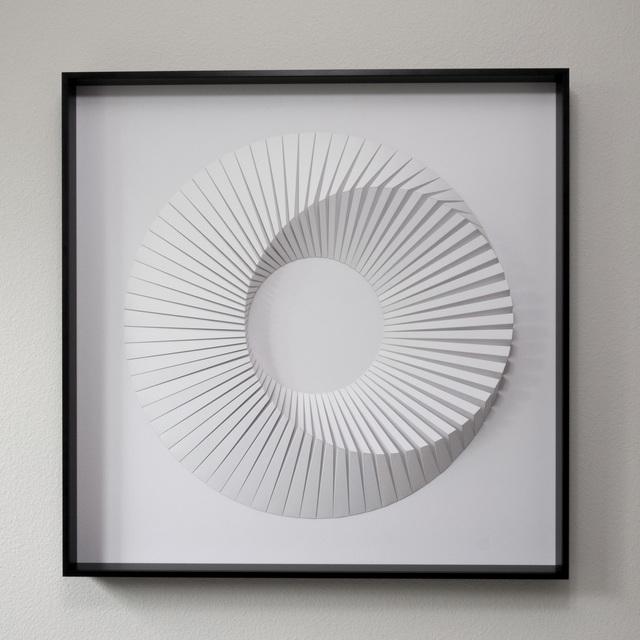 , 'Eclipse B White,' 2018, Contempop Gallery
