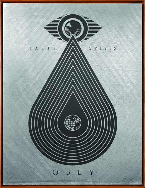 Shepard Fairey (OBEY), 'Earth Crisis (Silver),', 2016, Underdogs Gallery