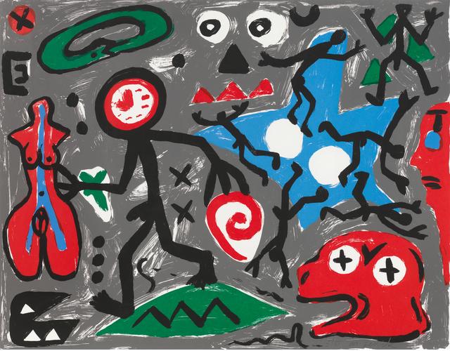 A.R. Penck, 'Spirit of Europe ', 1991, Galerie Fahnemann