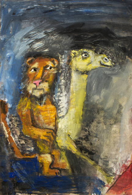 James Martin, 'Untitled (Lion and Camel)', Foster/White Gallery