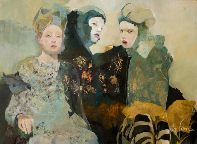 , 'Zébritude,' 2015, Galerie Calderone