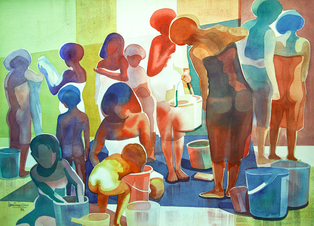 , 'Washing And Bathing - II,' 1993, Affinity ART