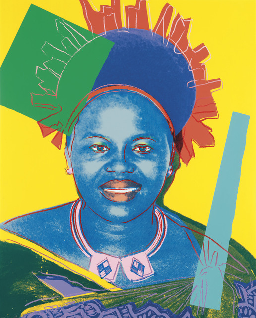 Andy Warhol, 'Queen Ntombi Twala, from: Reigning Queens (Royal Edition)', 1985, Christie's