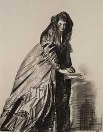 Untitled (Young Woman with Hooded Cape)