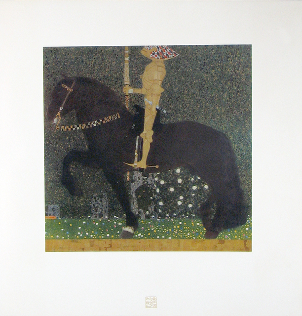 , 'The Golden Knight [Das Werk Gustav Klimts],' 1908-1914, Jason Jacques Gallery