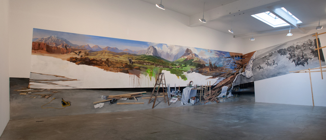 , 'Discovery of America,' 2012, Postmasters Gallery