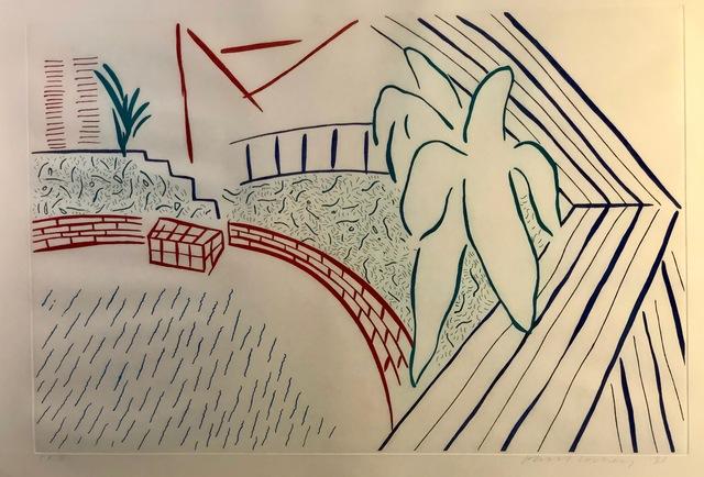 , 'My Pool & Terrace,' 1983, Anderson Fine Art Gallery