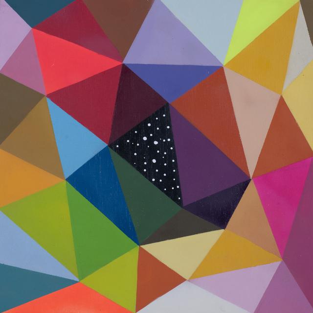 Okuda San Miguel, 'WINDOW TO THE UNIVERSE IV', 2017, Corey Helford Gallery