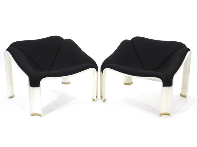 Pierre Paulin (1927-2009), 'Model 303 Lounge Chairs', 1967, Design/Decorative Art, Plastic, Wool Upholstery, Patrick Parrish Gallery