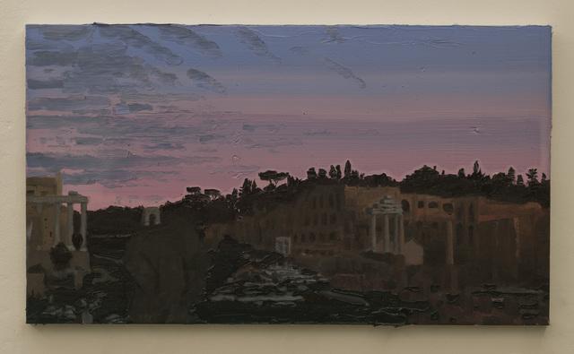 , 'Roman ruins at dusk II,' 2014, Galeria Millan