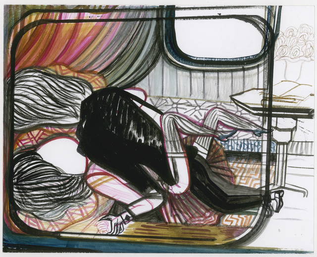 , 'Anais Nins Narrow Boat Night Lovers,' 2012, Petra Rinck