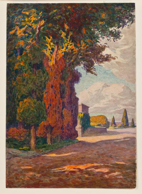 , 'Shaded trees,' , Susan Calloway Fine Arts