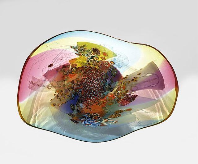 , 'Colorfield Platter V 1919,' 2019, OTA Contemporary