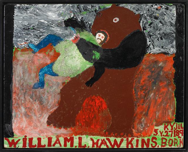 , 'Man Wrestling Bear ,' 1985, Ricco/Maresca Gallery