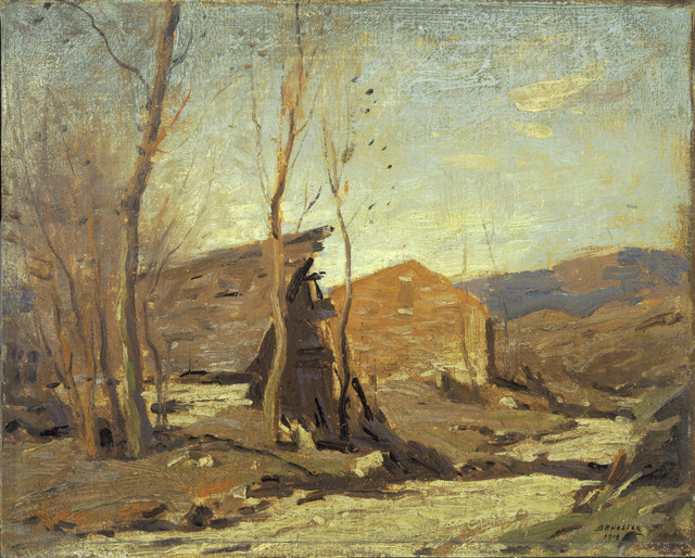 George M. Bruestle, 'Late Autumn Afternoon', 1918, Phillips Collection