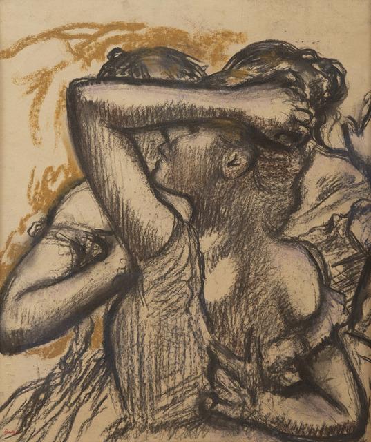 Edgar Degas, 'Trois danseuses en buste', Unknown, HELENE BAILLY GALLERY