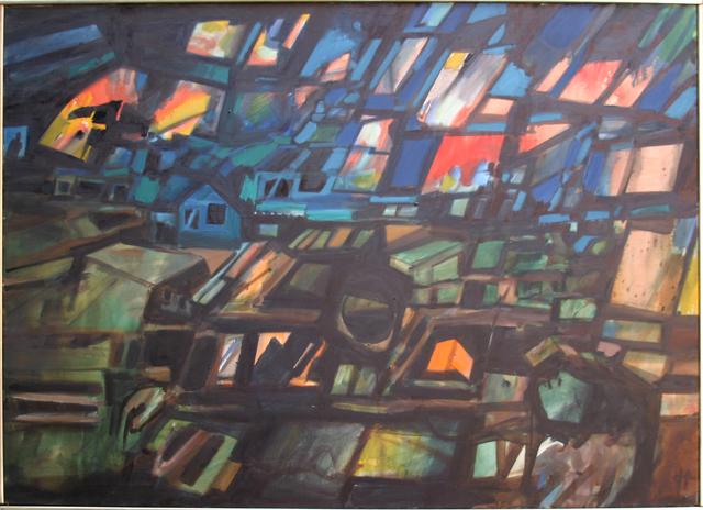 John Hultberg, 'German Night', 1973, Anita Shapolsky Gallery