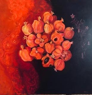 Laila Shawa, 'Rotting Pomegranates', 2011, Janet Rady Fine Art
