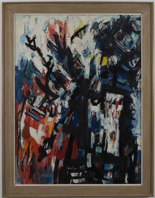 Abraham Rattner, 'Shekina-Amalek', 1960, Capsule Gallery Auction