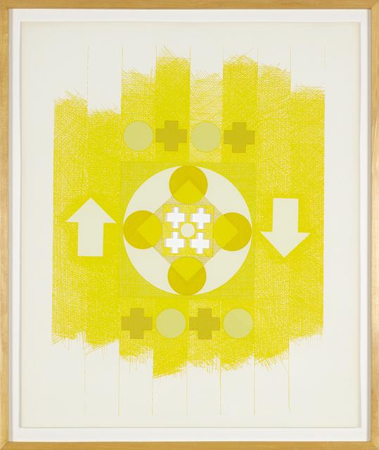 George Earl Ortman, 'Ten Works X Ten Painters', 1964, Print, Screenprint, Heather James Fine Art Gallery Auction