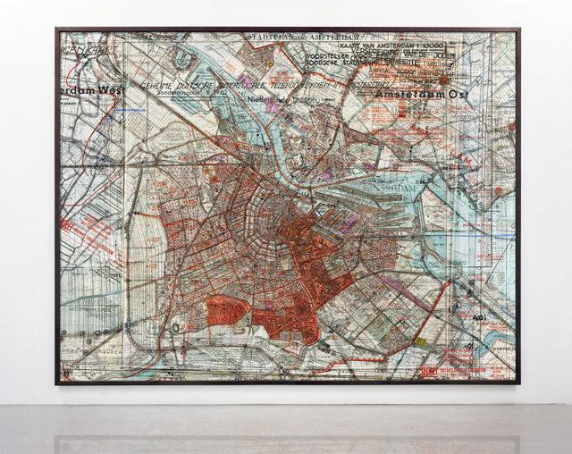 Gert Jan Kocken, 'Depictions of Amsterdam 1940-1945 (Close-up)', 2009-2019, Mixed Media, C-print on dibond, GRIMM