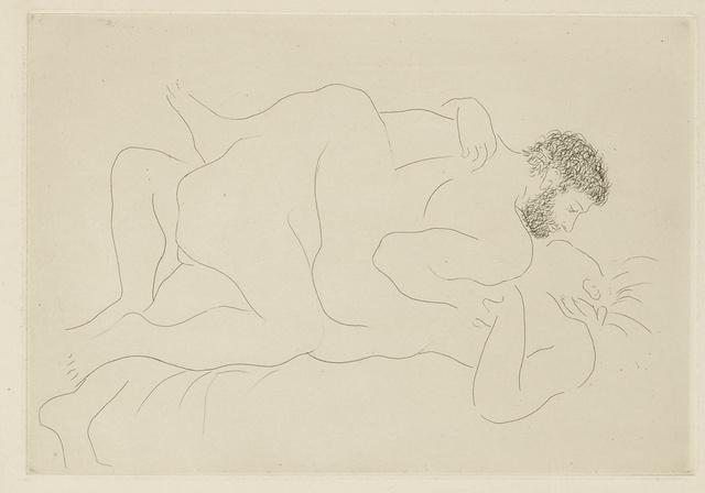 Pablo Picasso, 'Homme et Femme (B. 77; Ba. 118)', circa 1927, Print, Etching, Sotheby's