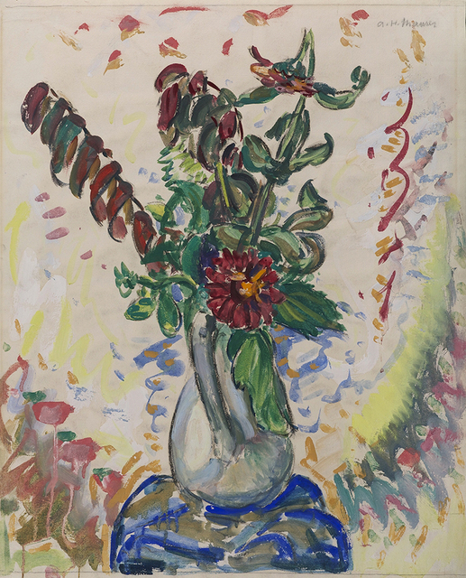 , 'Flowers in White Pitcher,' , Somerville Manning Gallery