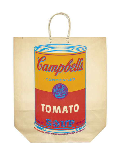 Andy Warhol, 'Campbell's Soup Can on a Shopping Bag', 1966, Christie's