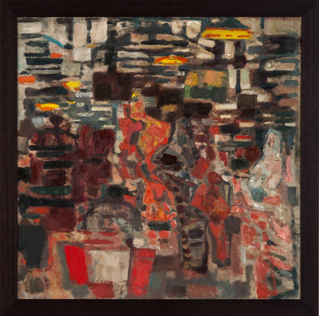 , 'Les Halles de Paris,' 1957, Palisander Gallery