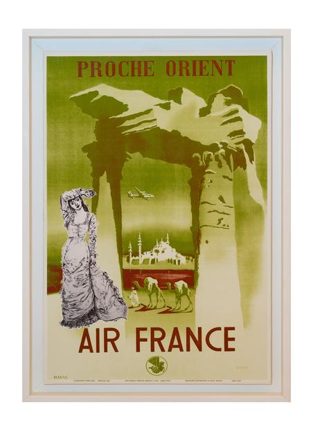 , 'Bon Voyage - Air France,' 2017, Janet Rady Fine Art