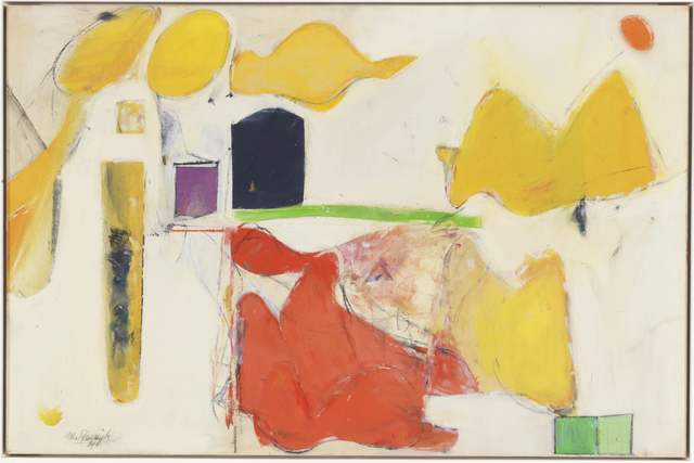 Milton Resnick, 'Untitled', 1946, Painting, Oil on canvas, The Milton Resnick and Pat Passlof Foundation