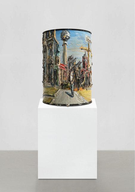 , 'Berlin Mitte Panorama (Litfaßsäulenbild),' 2018, Ludorff