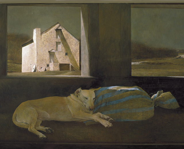 , 'Night Sleeper,' 1979, Museo Thyssen-Bornemisza