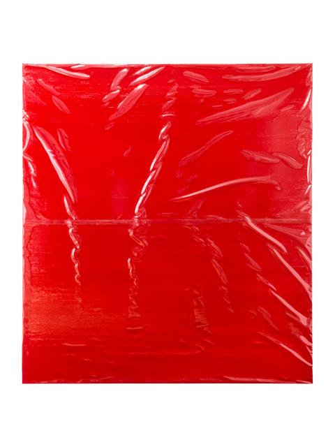 Angela de la Cruz, 'Plastic Cover II', 2016, Galerie Thomas Schulte