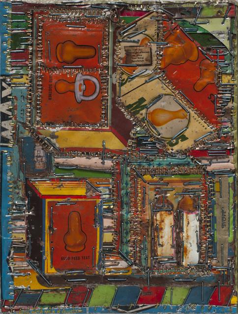 , 'Orangg Cube,' 2016, Tayloe Piggott Gallery