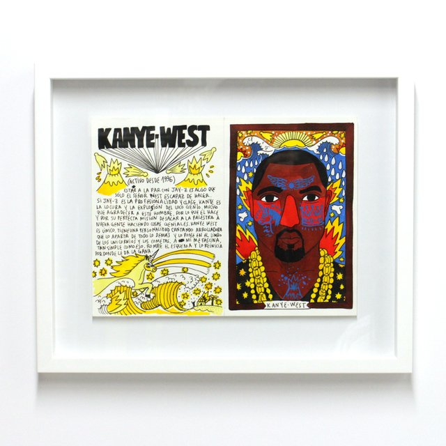 , '101 Artists to listen to before you die ; Kanye West,' 2016, Station 16 Gallery