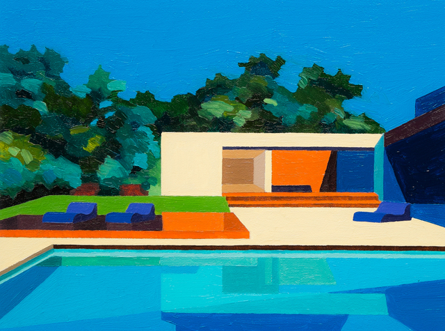 , 'Summer House,' 2016, Sue Greenwood Fine Art