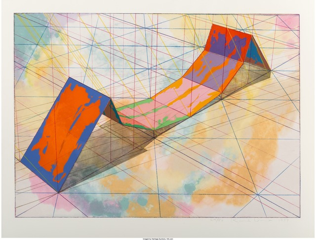 Ronald Davis, 'Invert Span, from the Snapline series', 1979, Heritage Auctions