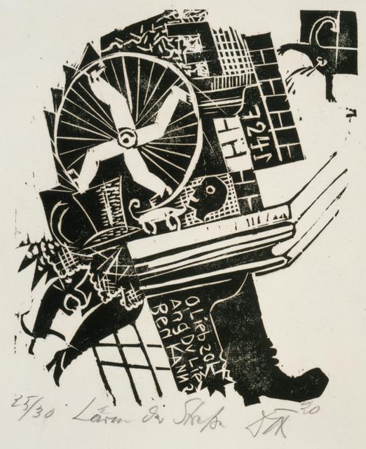 , 'Street Noise,' 1920, Galerie St. Etienne