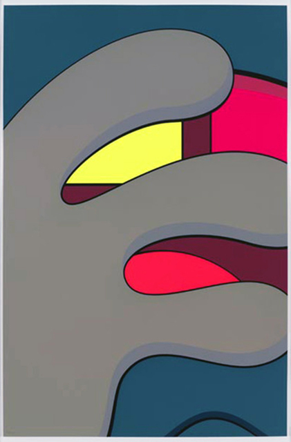 KAWS, 'Ups & Downs 7', 2013, Print, Silkscreen print on Premium Saunders Waterford 410 gsm High White paper, Galerie C.O.A