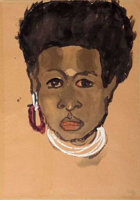 , 'Head of a South Sea Island Woman (Bildnis einer Südseeinsulanerin),' , Stephen Ongpin Fine Art