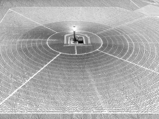 Olivo Barbieri, 'Ivanpah Solar Electric Generating System CA', 2017, Print, Archival Pigment Print, Matthew Liu Fine Arts