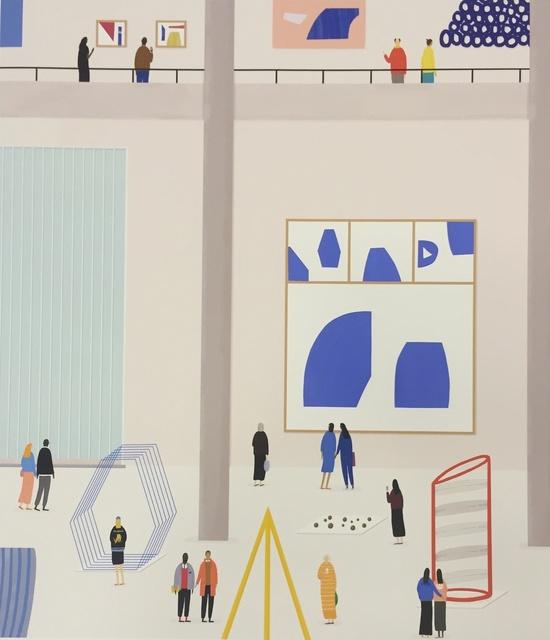 , 'Blue Condition,' 2015, Rebecca Hossack Art Gallery
