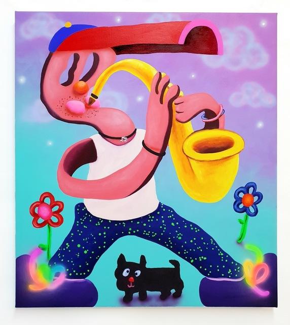 Super Future Kid, 'Saxy Saxman', 2018, Mindy Solomon Gallery