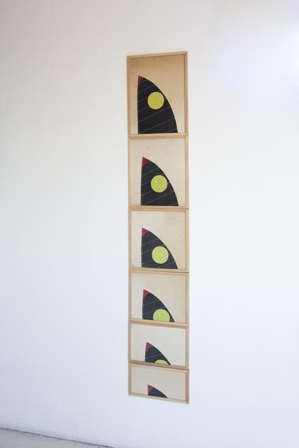 , ''Storyboard' de la serie 'Hundir un atardecer,' 2015, Die Ecke Arte Contemporáneo