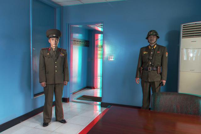 , '#37. NAM DONG HO, Military Guide, UN Hut, DMZ.,' 2014, Pékin Fine Arts