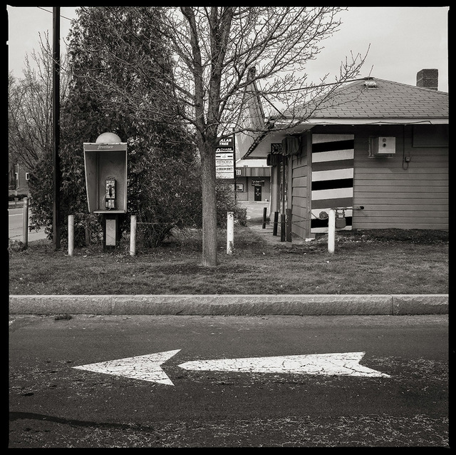 Eric Kunsman, '585.288.9518- East Main Street, Rochester, NY', 2018, Photography, Archival pigment print - Lucia print on edition etching rag, InLiquid