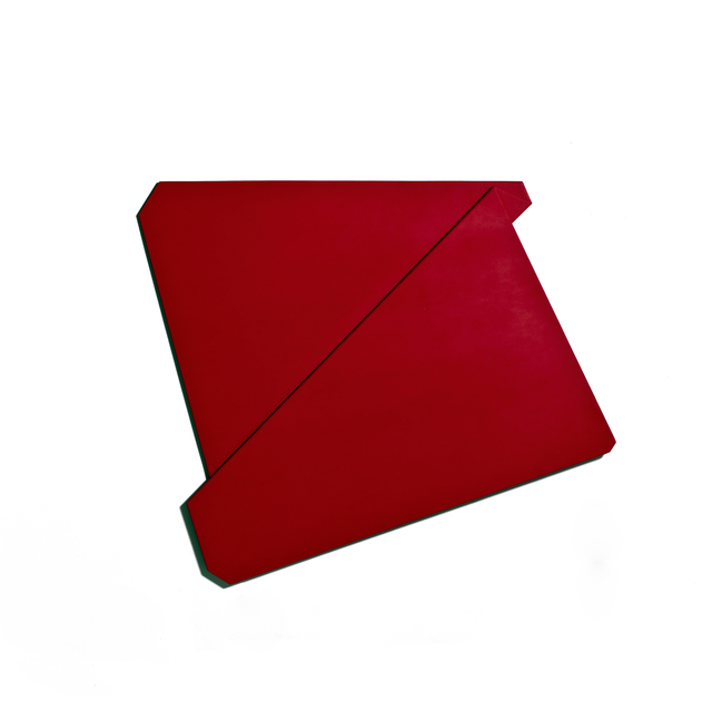, 'Large Red Folded Flat 08,' 2015, Häusler Contemporary